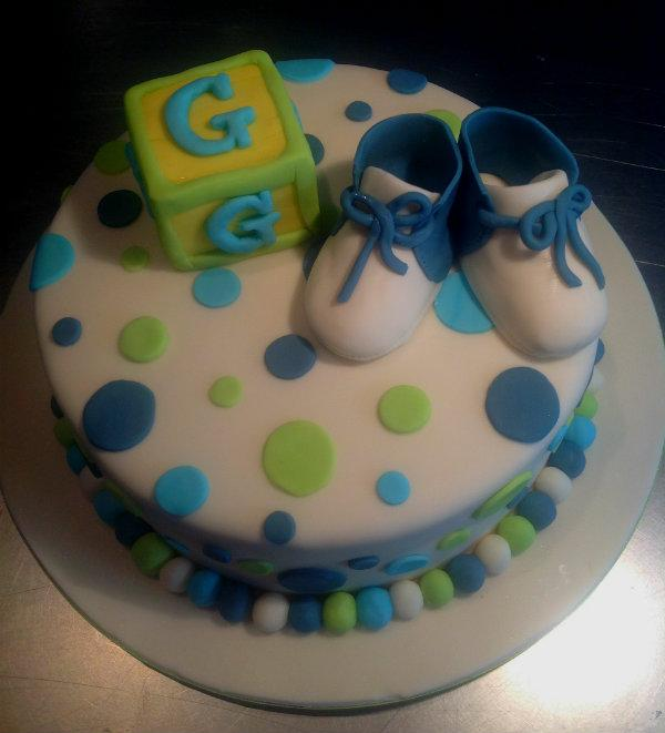 bootie block baby shower